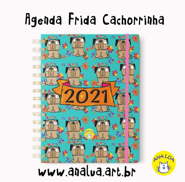 Agenda 2021 Frida Cachorrinha