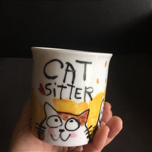 Caneca  Cat Sitter