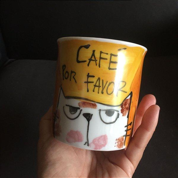 Caneca  Café por favor