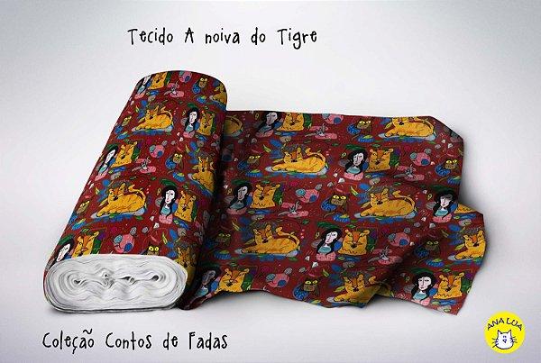 Tecido  -  A noiva do Tigre