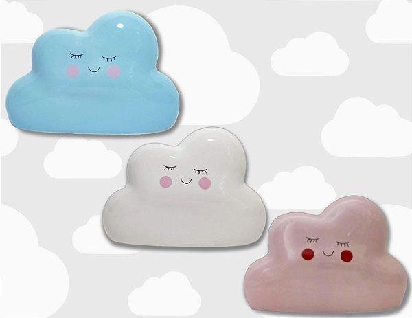 Cofre Nuvem de porcelana para crianças