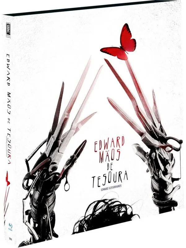 EDWARD MÃOS DE TESOURA - BD + LUVA