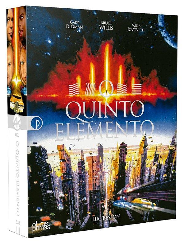 O QUINTO ELEMENTO - EDIÇÃO ESPECIAL DE COLECIONADOR [DIGIPAK BLU-RAY 4K UHD + BLU-RAY + DVD]