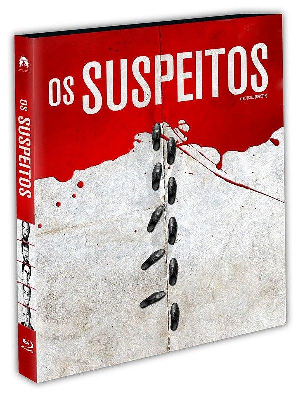 OS SUSPEITOS - BD + LUVA - ENTREGA A PARTIR DE 31/08/2021