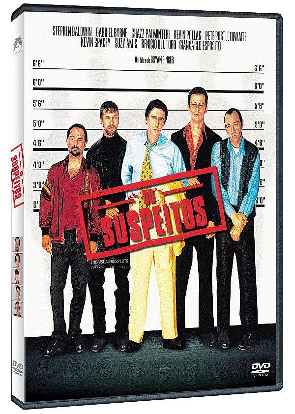 OS SUSPEITOS - DVD - ENTREGA A PARTIR DE 31/08/2021