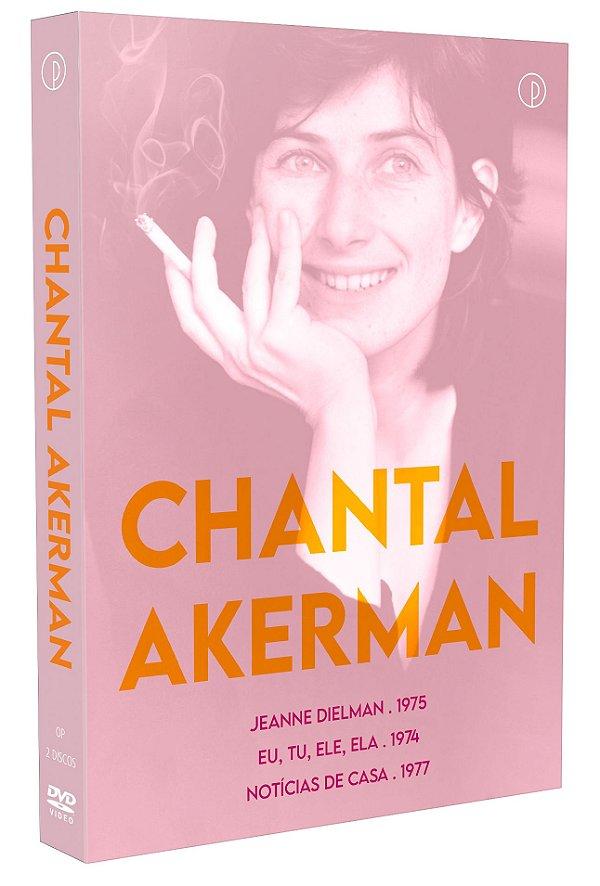 CHANTAL AKERMAN [LUVA COM 2 DVD'S] - ENTREGA  A PARTIR DE 30/07/2021