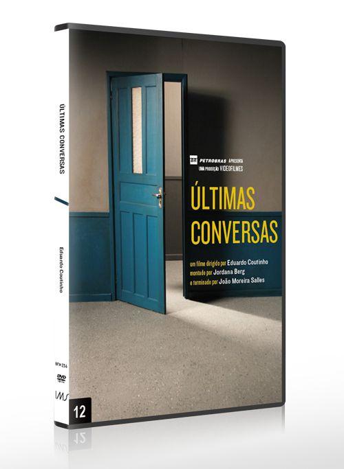 ÚLTIMAS CONVERSAS DVD + LIVRETO