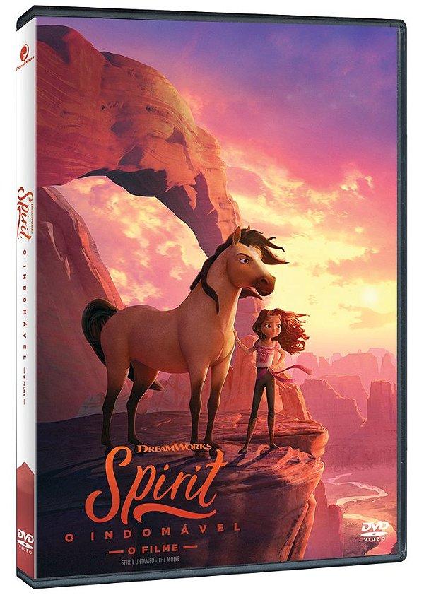SPIRIT - O INDOMÁVEL - DVD - PRÉ-VENDA - 29/09/2021