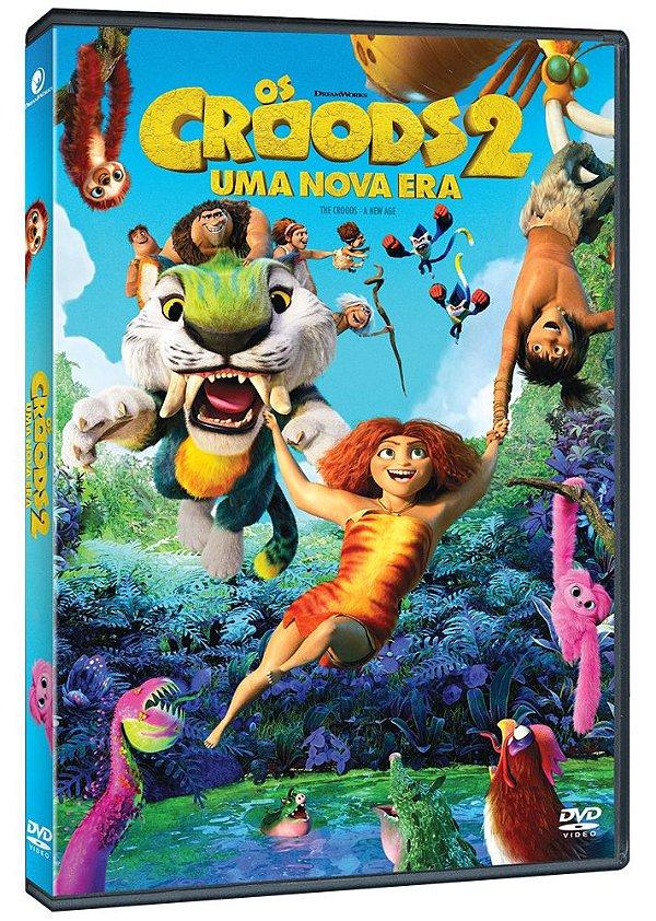 OS CROODS 2: UMA NOVA ERA  - DVD - PRÉ-VENDA - 29/09/2021