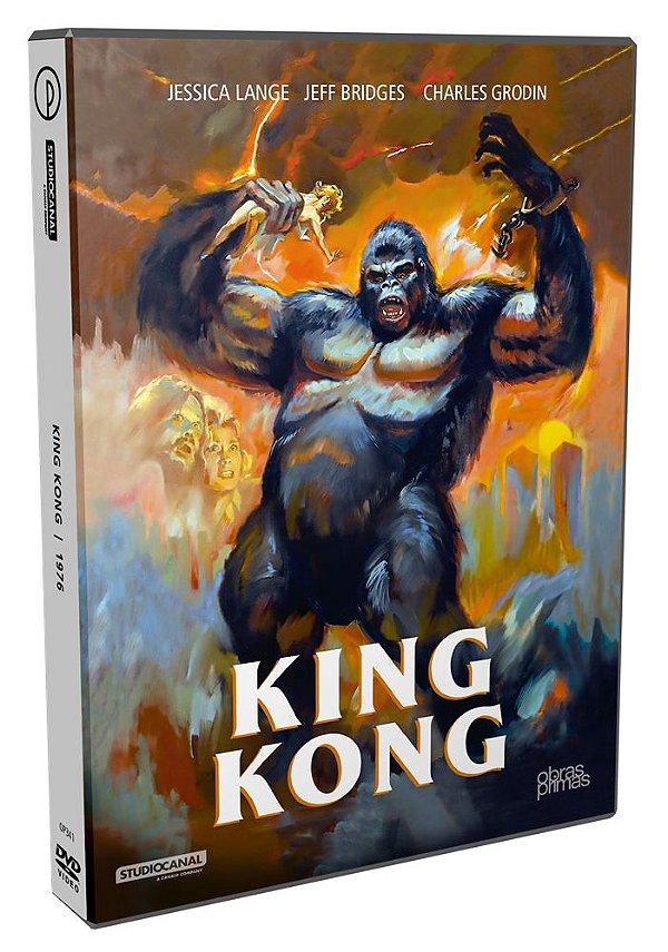 KING KONG - 1976 - DVD SIMPLES