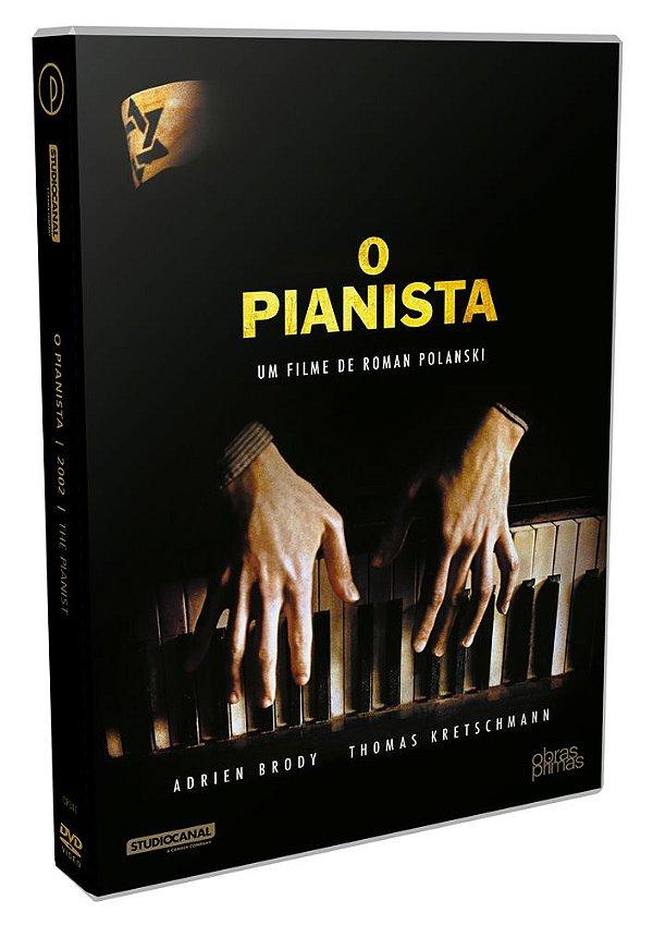 O PIANISTA - DVD SIMPLES