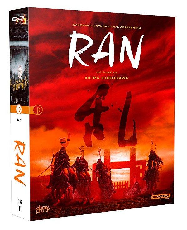 RAN - EDIÇÃO ESPECIAL DE COLECIONADOR [BLU-RAY + DVD] - PRÉ-VENDA - 29/10/2021