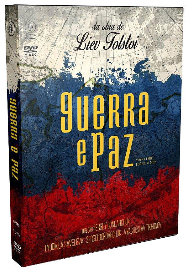GUERRA E PAZ ( 3 DVDS)