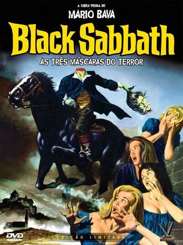 BLACK SABBATH - AS TRÊS MÁSCARAS DO TERROR