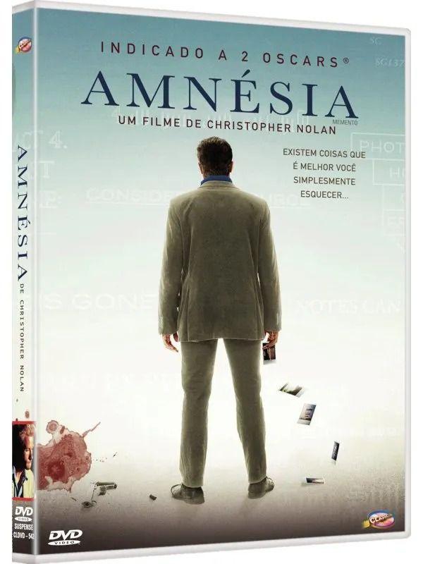 AMNÉSIA - DVD