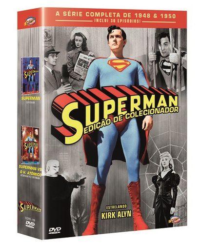 COLEÇÃO SUPERMAN - EDIÇÃO DE COLECIONADOR (BOX)
