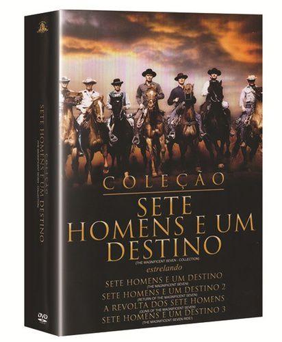 SETE HOMENS E UM DESTINO - COLEÇÃO (4 DVDS)