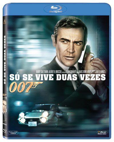 COM 007 SÓ SE VIVE DUAS VEZES (BLU-RAY)