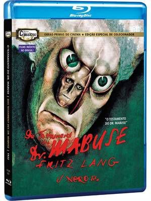 O TESTAMENTO DO DR. MABUSE (BLU-RAY)