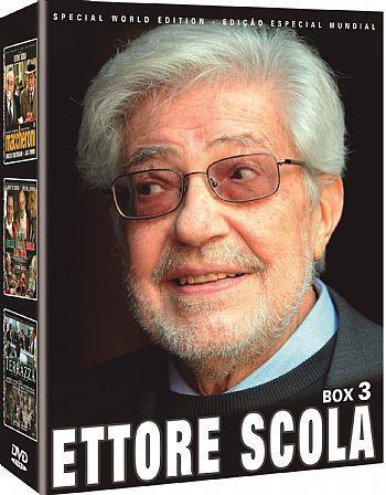 COLEÇÃO ETTORE SCOLA BOX 3 - 3 DVDS