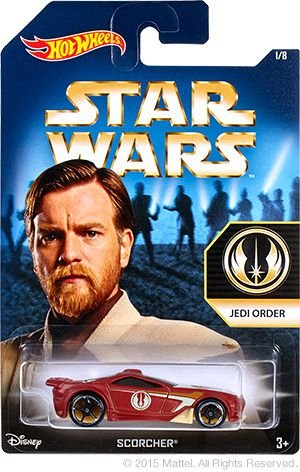HOT WHEELS - STAR WARS - JEDI ORDER
