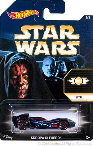 HOT WHEELS - STAR WARS - DARTH MAUL