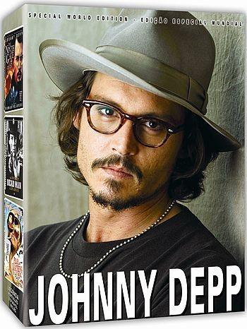 COLEÇÃO JOHNNY DEPP - 3 DVDS