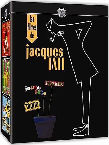 COLEÇÃO JACQUES TATI - 3 DVDS