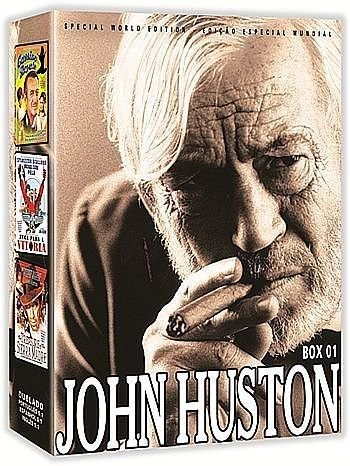 COLEÇÃO JOHN HUSTON VOL. 1 - 3 DVDS