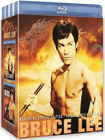 BRUCE LEE PACK 4 DVDS