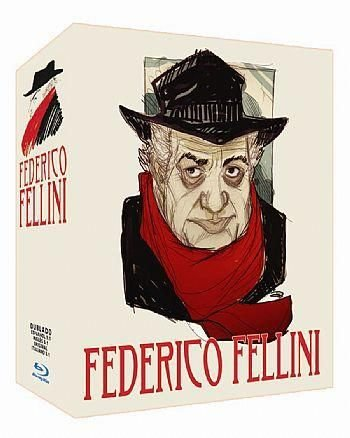 FEDERICO FELLINI PACK 3 BLU RAY