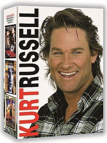 COLEÇÃO KURT RUSSEL - 3 DVDS