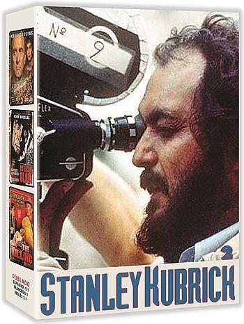 COLEÇÃO STANLEY KUBRICK VOL. 2 - 3 DVDS