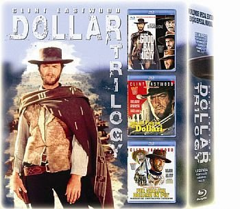 CLINT EASTWOOD - TRILOGIA DÓLAR - PACK 3 BLU RAY