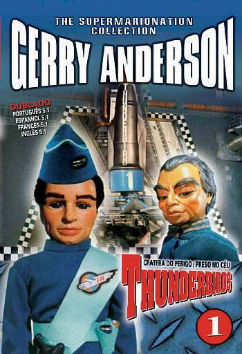 THUNDERBIRDS 1 - CRATERA DO PERIGO / PRESO NO CÉU