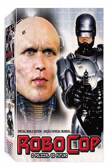 COLEÇÃO ROBOCOP - 3 DVDS