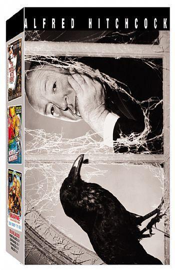 COLEÇÃO ALFRED HITCHCOK VOL.2 - 3 DVDS