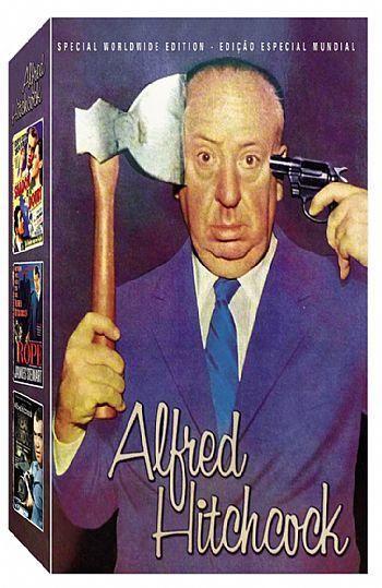 COLEÇÃO ALFRED HITCHCK VOL.1 - 3 DVDS