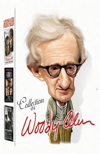 COLEÇÃO WOODY ALLEN VOL. 4 - 3 DVDS