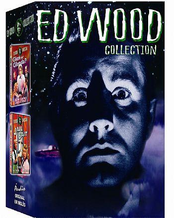 COLEÇÃO ED WOOD - 4 DVDS
