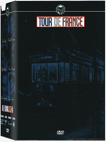 COLEÇÃO TOUR DE FRANCE VOL.2 - 4 DVDS