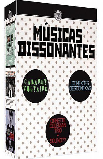 COLEÇÃO MÚSICAS DISSONANTES - 3 DVDS