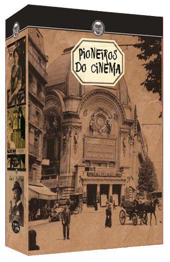 COLEÇÃO PIONEIROS DO CINEMA - 3 DVDS