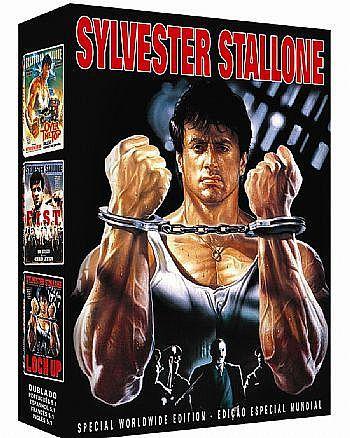 COLEÇÃO SYLVESTER STALLONE - 3 DVDS