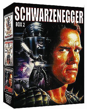 COLEÇÃO SCHWARZENEGGER VOL.2 - 3 DVDS