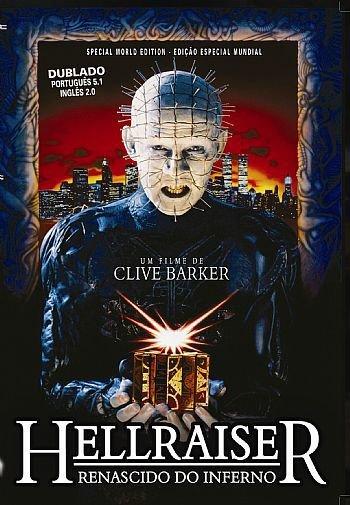 HELLRAISER, RENASCIDO DO INFERNO