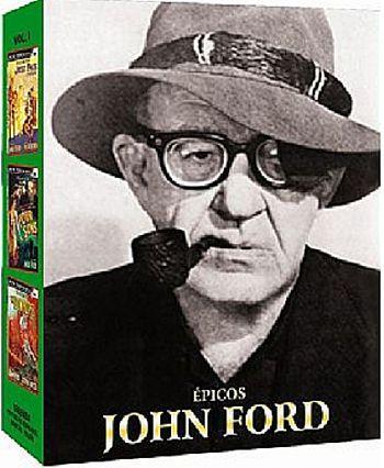 COLEÇÃO ÉPICOS  JOHN FORD - 3 DVDS