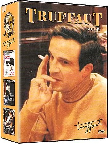 COLEÇÃO TRUFFAUT VOL. 4 - 3 DVDS