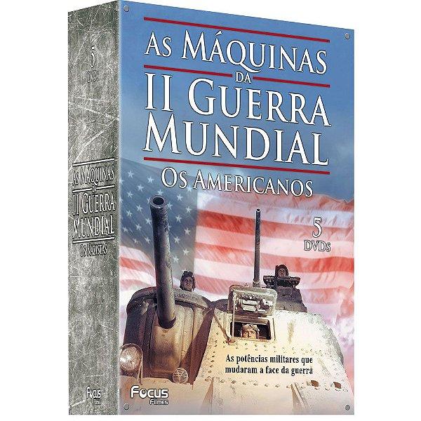 AS MÁQUINAS DA II GUERRA MUNDIAL - OS AMERICANOS