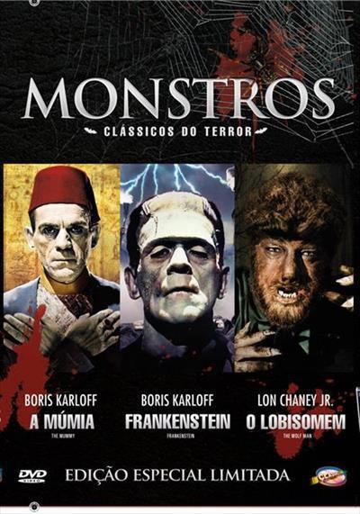 MONSTROS - CLÁSSICOS DO TERROR